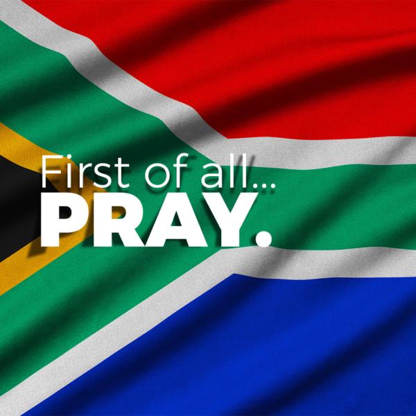 Pray for SA
